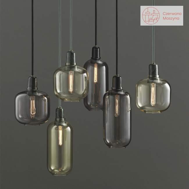 Lampa wisząca Normann Copenhagen Amp, złoto-zielona