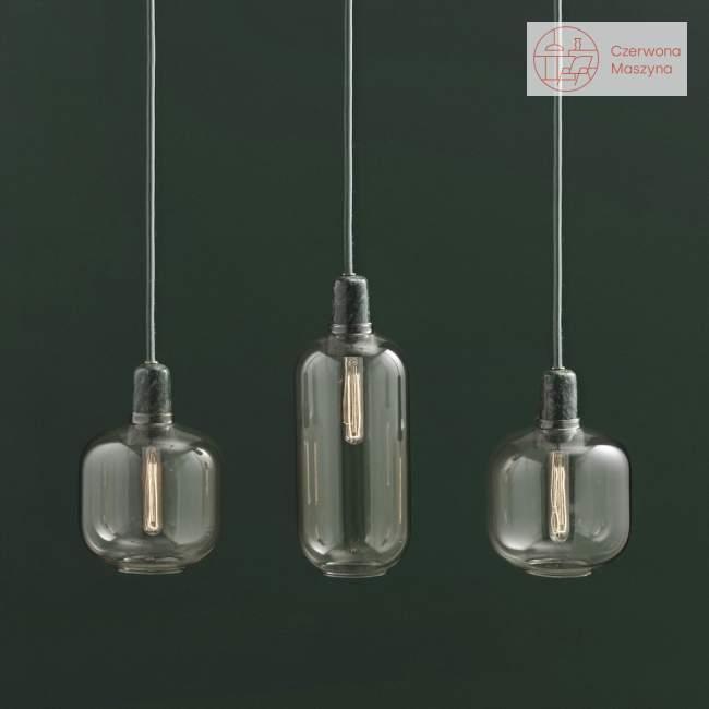 Lampa wisząca Normann Copenhagen Amp podłużna, czarna