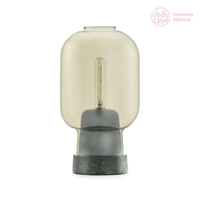 Lampa stołowa Normann Copenhagen Amp, złoto-zielona