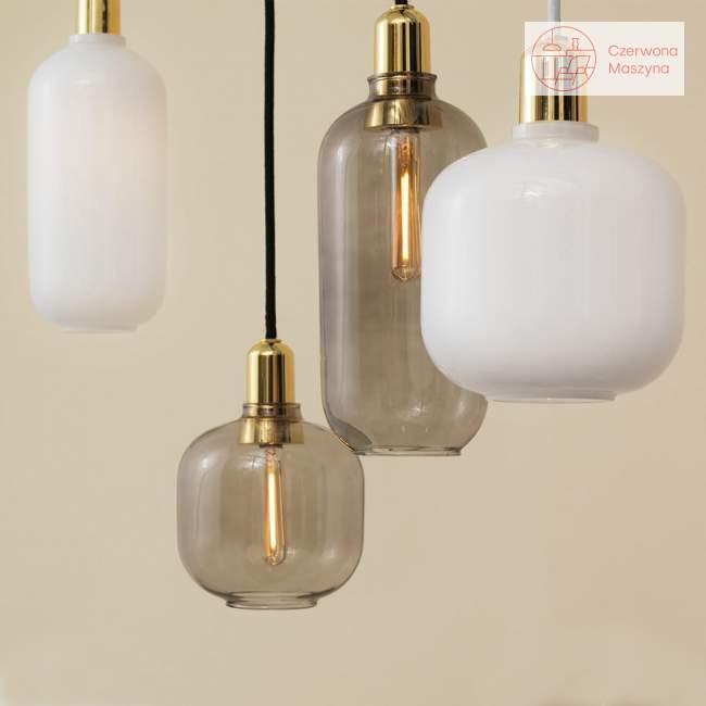 Lampa wisząca Normann Copenhagen Amp podłużna white / brass