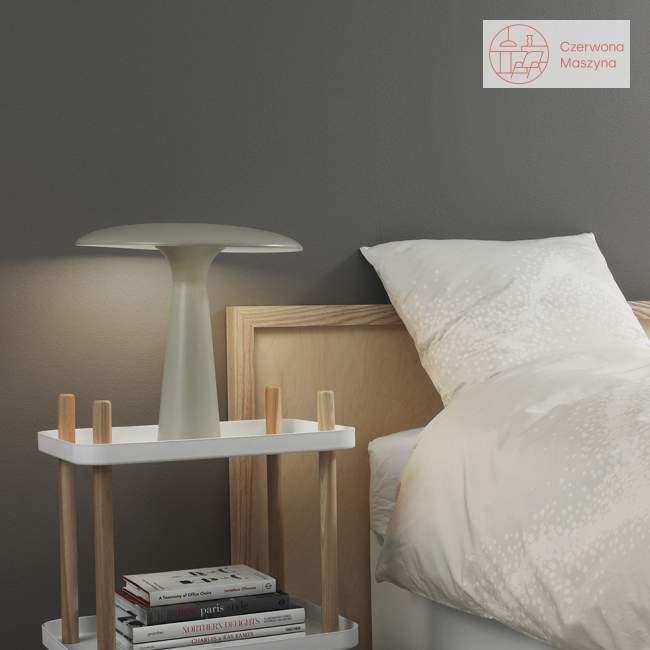 Lampa stołowa Normann Copenhagen Shelter, szara