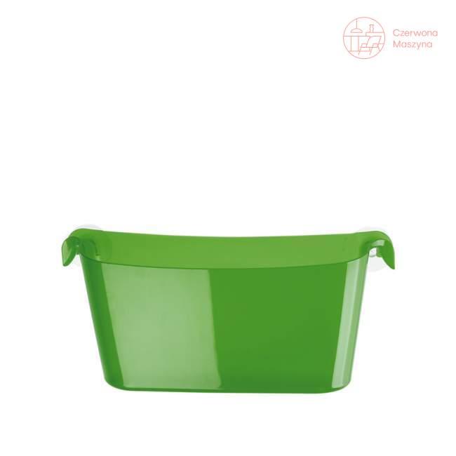 Pojemnik łazienkowy Koziol Boks zielony przezroczysty
