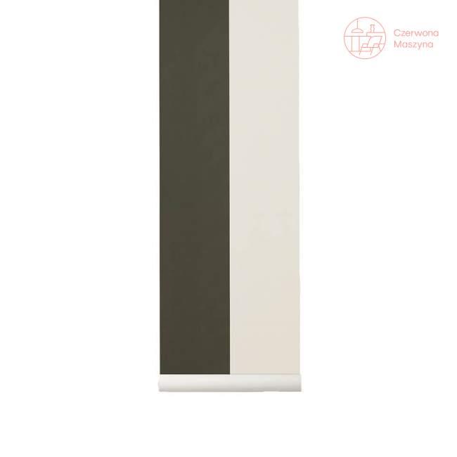 Tapeta ferm LIVING Thick Lines Green/Off White