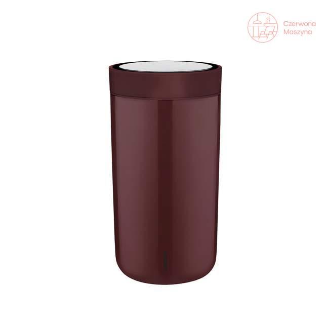 Kubek Stelton To Go Click 0,2 l, burgund