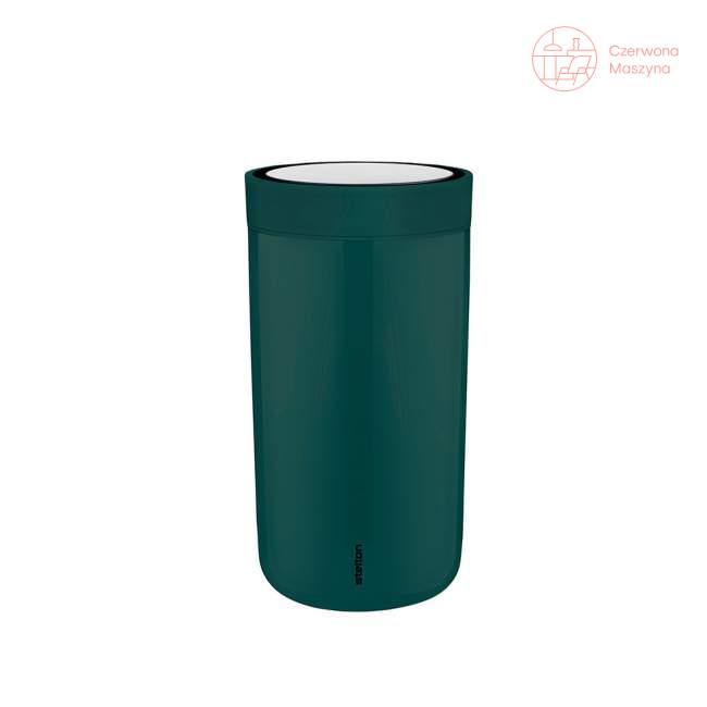 Kubek Stelton To Go Click 0.2 l, zieleń butelkowa