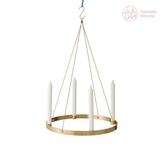 Świecznik ferm LIVING Circle 38 cm