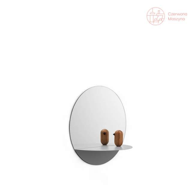 Lustro wiszące Normann Copenhagen Horizon okrągłe, białe