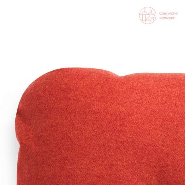Poduszka dekoracyjna Normann Copenhagen Hi wool, czerwona