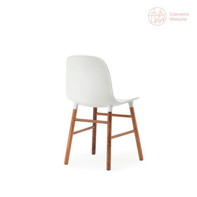 Krzesło Normann Copenhagen Form orzech, białe