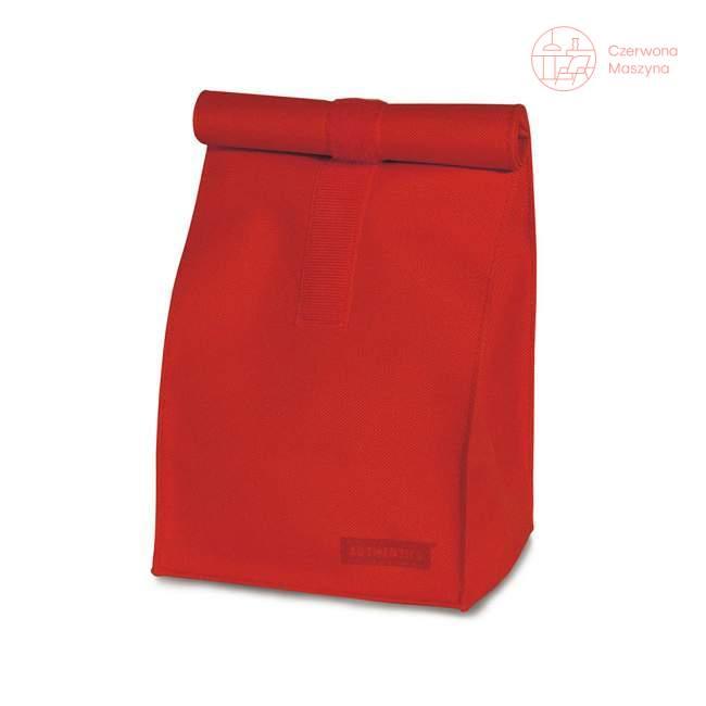 Torba Authentics Rollbag L, czerwona z poliestru