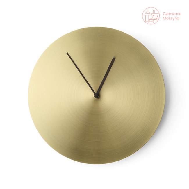 Zegar ścienny Menu New Norm, złoty