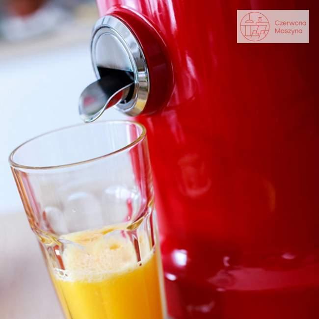 Wyciskarka Novis Vita Juicer Exclusive Line, czerwona