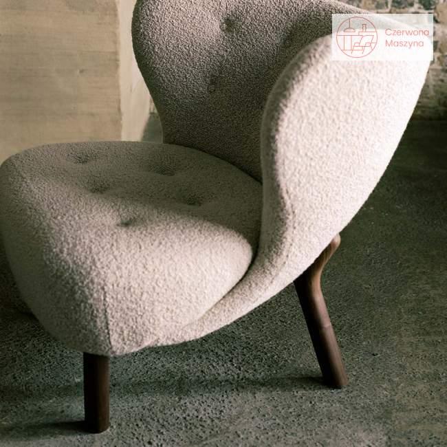 Fotel &tradition Little Petra VB1 Walnut / Karakorum 003