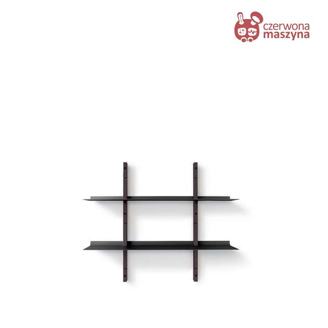 Regał modułowy Eva Solo Smile, 67,5 cm, smoked oak / black