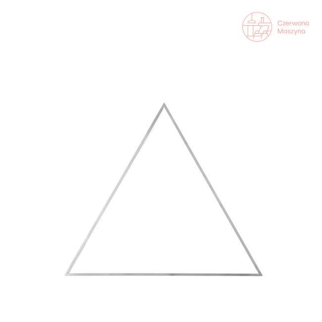 Ozdoba Menu Still trójkąt, srebrna