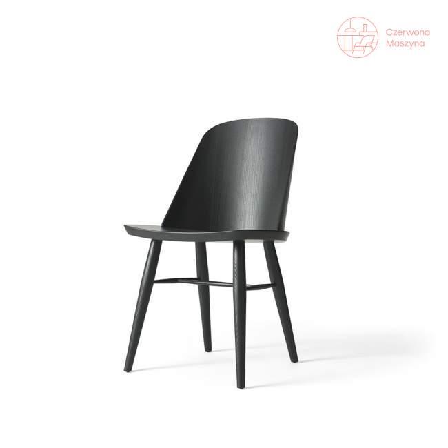 Krzesło Menu Synnes jesion, czarne