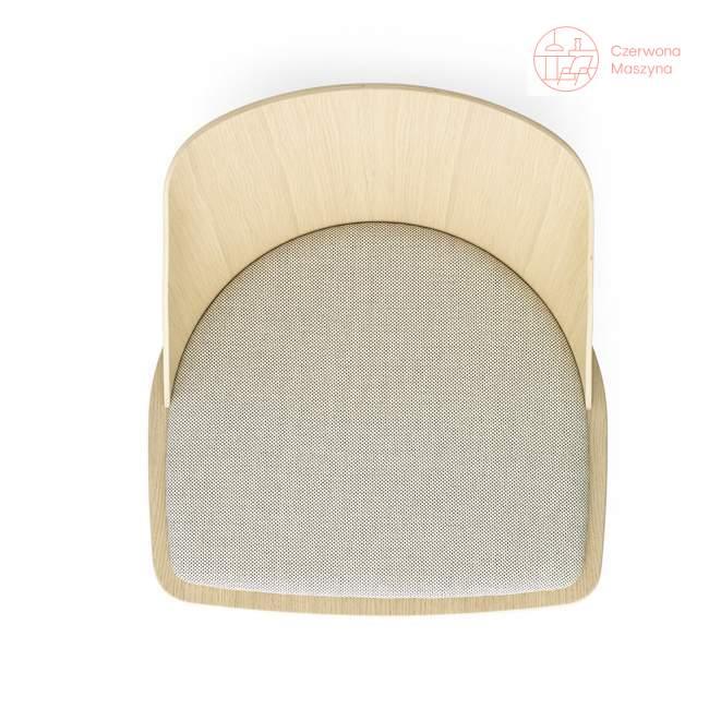 Krzesło Menu Synnes dąb i wełna