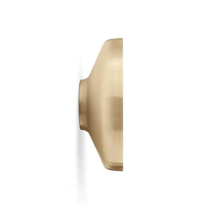 Lustro ścienne Menu Darkly Ø 60 cm, brushed brass