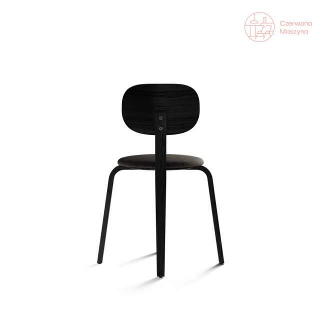 Krzesło Menu Afteroom Plus Kvadrat Moss, Black Ash/szaroniebieski