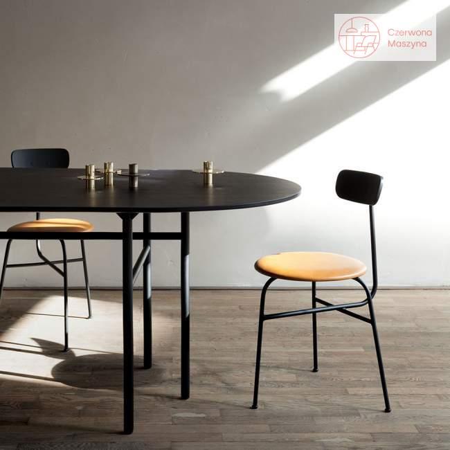 Krzesło Menu Afteroom 3.0 skóra Soerensen, koniakowe