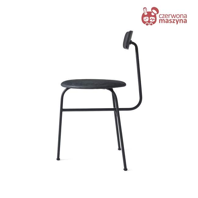 Krzesło Menu Afteroom 3.0 skóra Soerensen, czarne