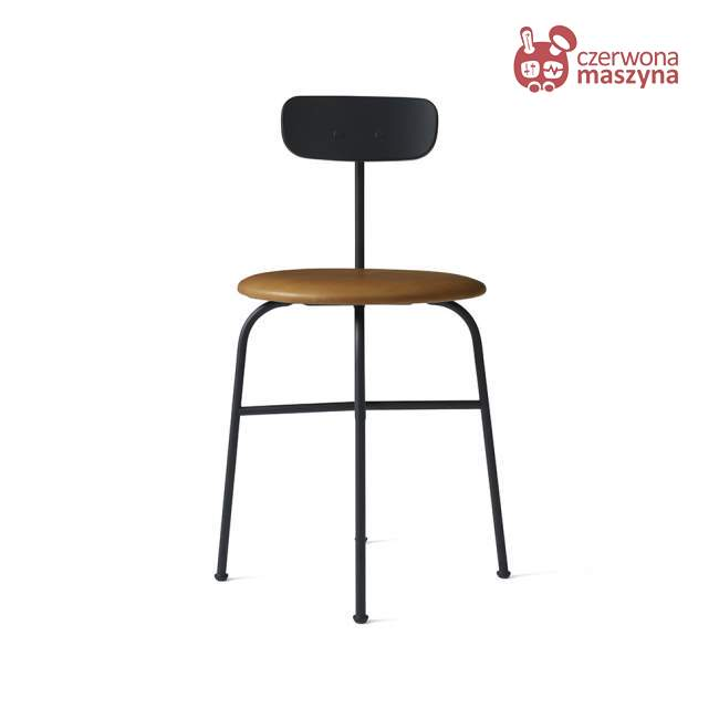 Krzesło Menu Afteroom 4.0 skóra Soerensen, koniakowe