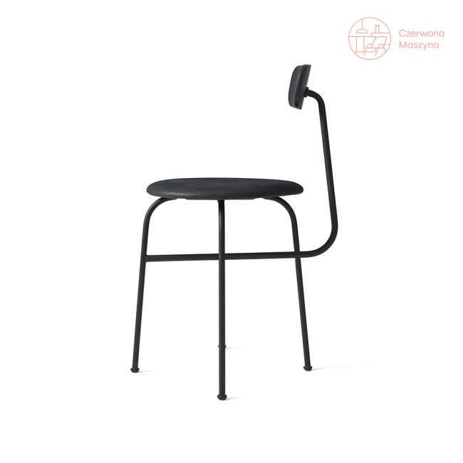 Krzesło Menu Afteroom 4.0 skóra Soerensen, czarne