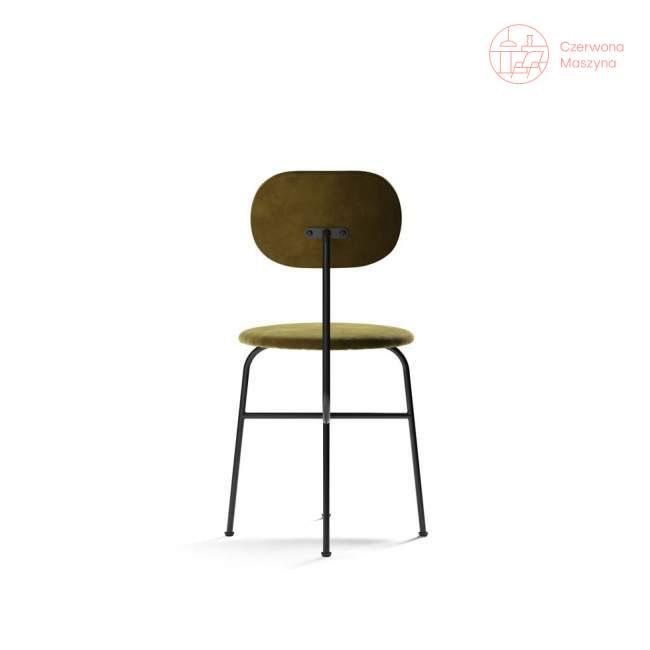 Krzesło Menu Afteroom JAB City Velvet, Black/oliwkowy