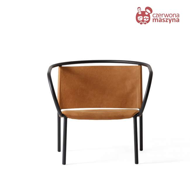 Fotel Menu Afteroom skóra CAMO Silk, brązowy