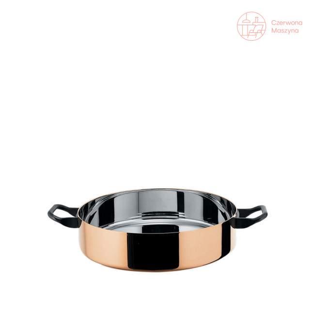 Garnek niski Officina Alessi La Cintura di Orione 3,1 l, miedziany