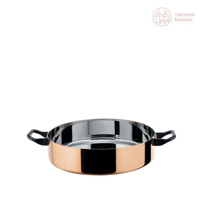 Garnek niski Officina Alessi La Cintura di Orione 5,4 l, miedziany