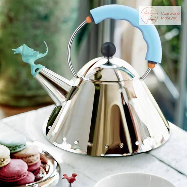 Czajnik Alessi 9093 Tea Rex 2 l, jasnoniebieski