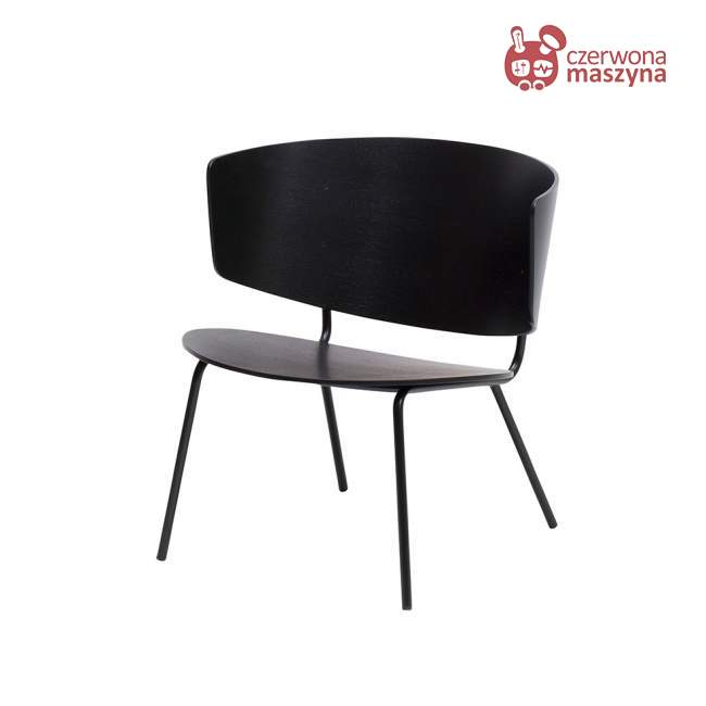Krzesło ferm LIVING Herman, czarne