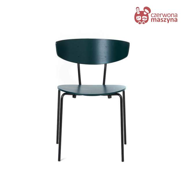 Krzesło ferm Living Herman dark green