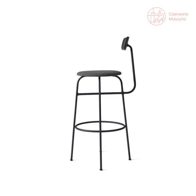 Krzesło barowe Menu Afteroom Kvadrat Basel 102 cm, czarny melanż