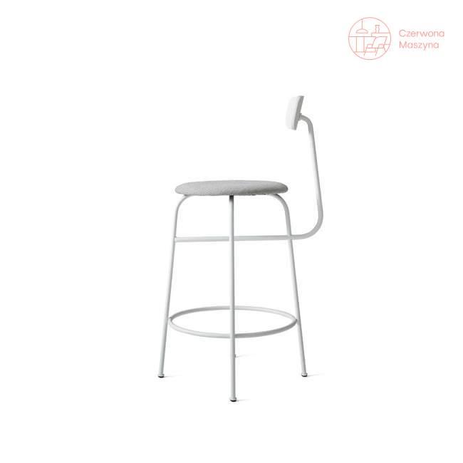 Krzesło barowe Menu Afteroom Kvadrat Basel 92 cm, biały melanż