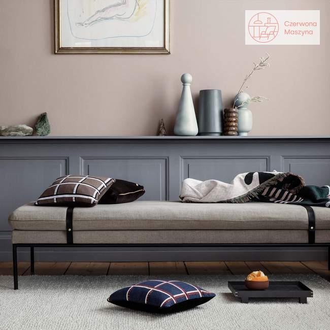 Leżanka ferm Living Turn Cotton light grey