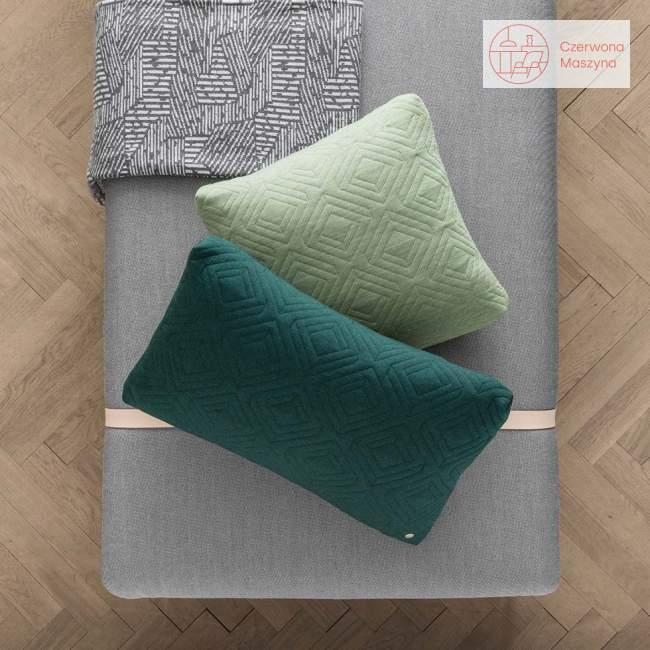 Leżanka ferm Living Turn Wool blue / leight grey / black
