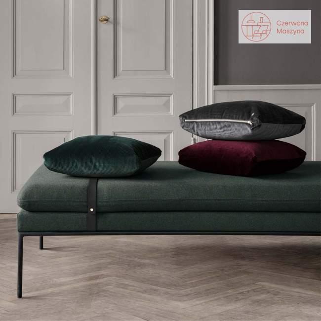 Leżanka ferm Living Turn Cotton leight grey / black