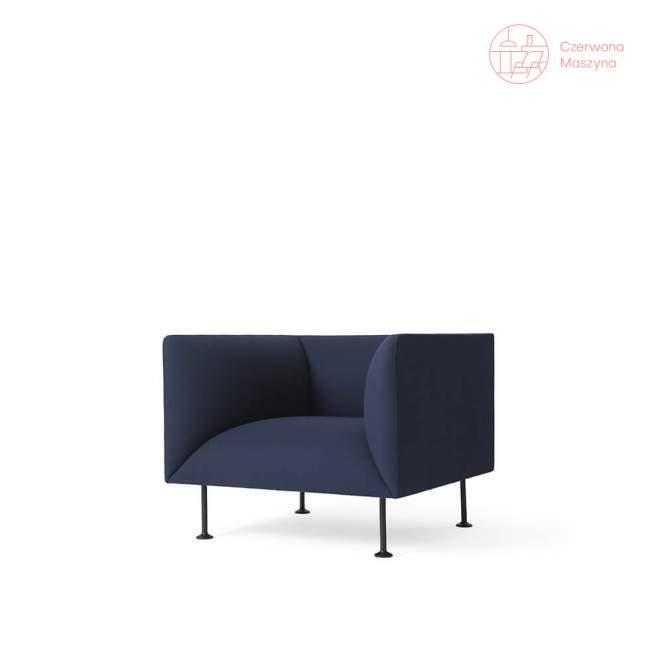 Fotel Menu Godot Gabriel Gaja C2C, błękit pruski