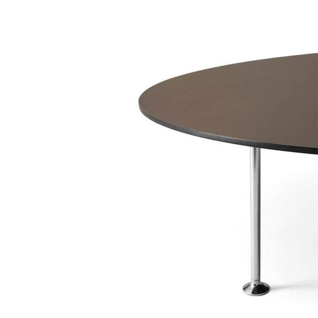 Stolik kawowy Menu Godot Ø 120 cm, fioletowy
