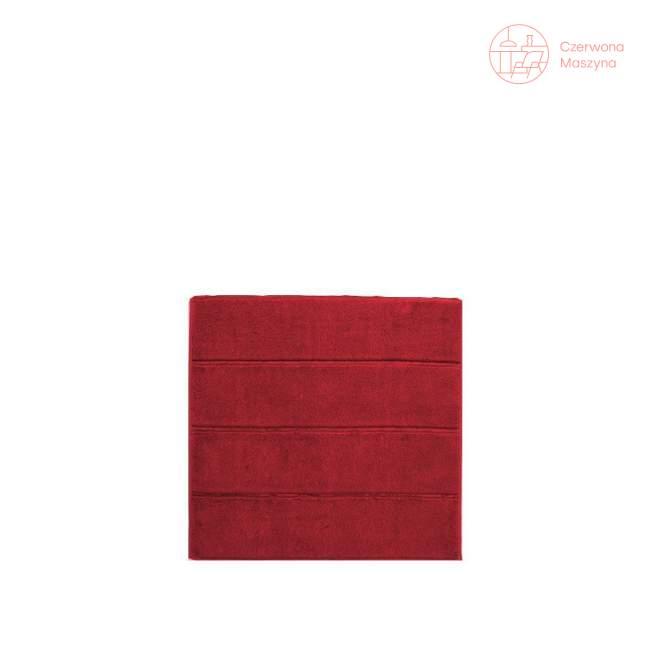 Dywanik łazienkowy Aquanova Adagio 60 x 60 cm, czerwony
