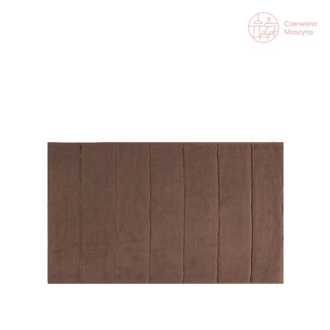 Dywanik łazienkowy Aquanova Adagio 60 x 100 cm, brązowy