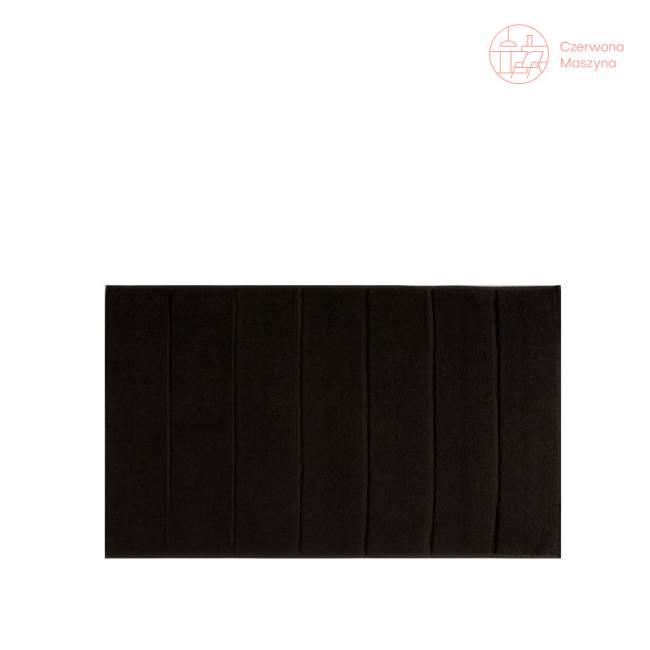 Dywanik łazienkowy Aquanova Adagio 60 x 100 cm, czarny