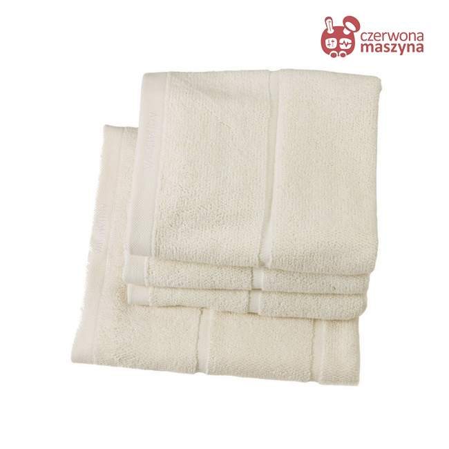 Ręcznik Aquanova Adagio 30 x 50 cm, kremowy