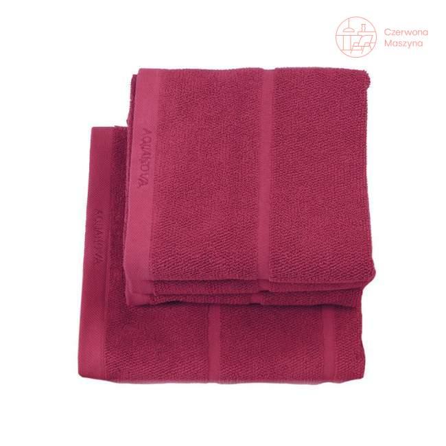 Ręcznik Aquanova Adagio 30 x 50 cm, fuksja
