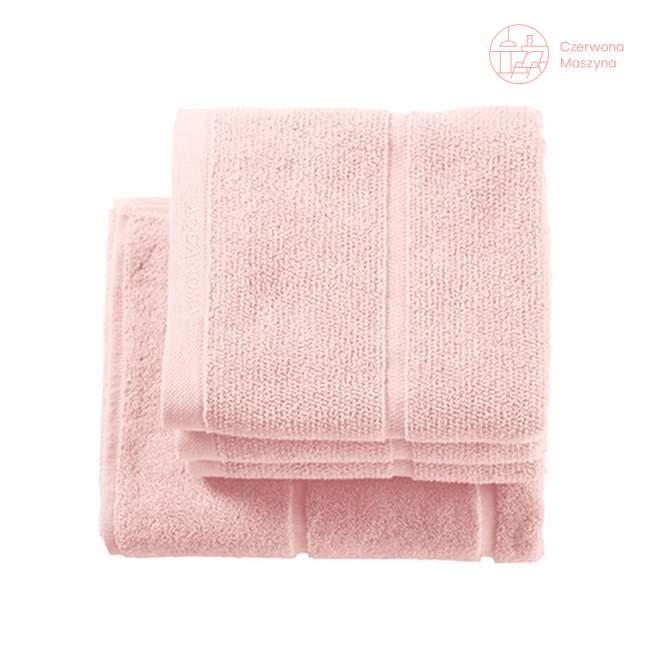Ręcznik do rąk Aquanova Adagio 30 x 50 cm, jasnoróżowy