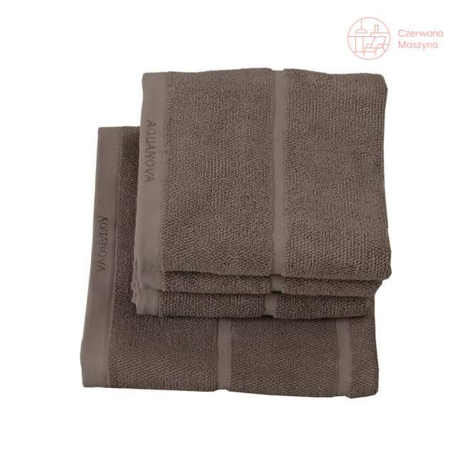 Ręcznik Aquanova Adagio 55 x 100 cm, brązowy