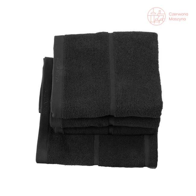 Ręcznik Aquanova Adagio 55 x 100 cm, czarny