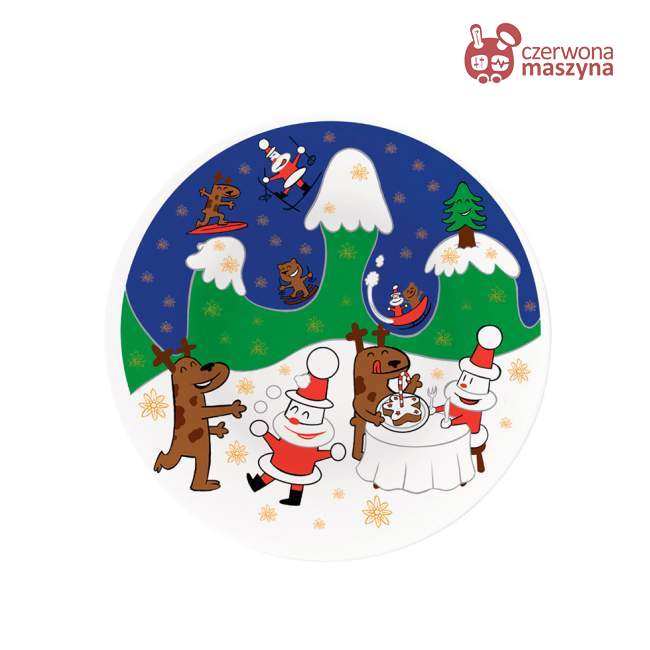 Patera A di Alessi Happy Snowtime